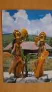 TAHITIAN FOLKLORE Carte Postale Neuve Années 70 Très Bon état Dos Partagé - Polynésie Française