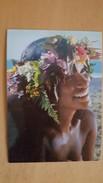 HOSPITALITY OF TAHITIAN SMILE Carte Postale Neuve Années 70 Très Bon état Dos Partagé - Polynésie Française