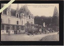 Vienne - La Roche Posay - Service Automobile Horace Berger Chatellerault, Devant Le Casino De Posay Et Sa Terrasse - La Roche Posay