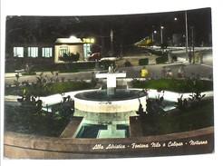 TERAMO - Alba Adriatica - Fontana Nilo E Calipso - Notturno - 1962 - Teramo