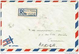 MALAYSIE Recommandé Avion De Rantau Panjang à Douala Avec Transit Kélantan, Malaysie, Singapour. Thématique Paludisme - Malaysia (1964-...)