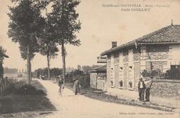 BLAISE Sous HAUTEVILLE  Route D'Hauteville - Café GUILLET - Other Municipalities