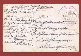 Feldpostkarte Stempels Fussart Bat 18 & Antwerpen 9/12/1915 - WW I
