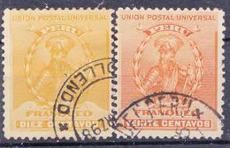 PERU - 1896 - YT 113 & 115 - Mi.Nr.105 & 107- Used ° - Pérou