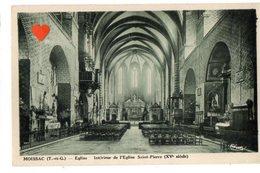 13611-LE-82-MOISSAC-Eglise-Intérieur De L' Eglise Saint-Pierre (XVe Siècle) - Moissac