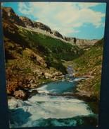 Parque Nacional De ORDESSA.Faja Pelay Desde Soaso.Cpsm,voyagé,be,infime Rousseur Au Verso - Huesca