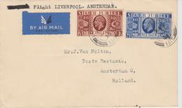 Luchtpost Liverpool Amsterdam 1935  A 120?? - Brieven En Documenten