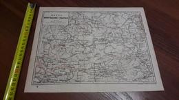 Old Map RUSSIA. Vologda Province. 1900 Yy. - Mapas