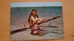 TOUT LE CHARME DE LA POLYNESIE Très Bon état Dos Partagé CARTE POSTALE Neuve ANNEES 70 - Polynésie Française