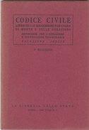 CODICE CIVILE -Libro Primo  1940 (200210) - Libri, Riviste, Fumetti