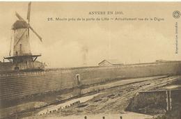 Anvers En 1800 Moulin Près De La Porte De Lillo  Actuellement Rue De La Digue (4398) - Antwerpen
