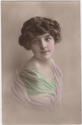 CPA Petite Fille Edwardian Girl Grete Reinwald - Portraits