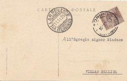 DEPUTAZIONE PROVINC.di TORINO -1925 - F/P (200210) - Interi Postali