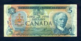 Banconota Canada 5 Dollari 1979 - BB - Canada