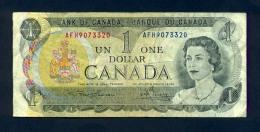 Banconota Canada 1 Dollaro 1973 - BB - Canada
