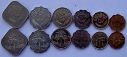 IRAQ SERIE 6 MONETE 500-50-25-10-5-1  FILS - Iran