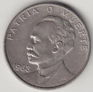 @Y@    Cuba   20 Centavos  1968        (4539) - Cuba
