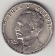 @Y@    Cuba   20 Centavos  1962       (4540) - Cuba