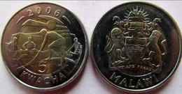 MALAWI 2006 5 KWACHA BIMETALLICA FDC UNC - Malawi