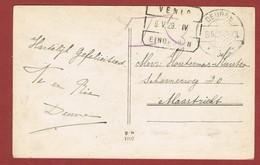 Treinstempel Venlo - Eindhoven 6/5/1929 Op Kaart