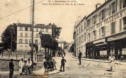 DPT 92 GARCHES Place Des Tilleuls Et Rue De La Plaine - Garches