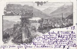 GRUSS AUS MERAN - ERW. SPINDLER FEC. - VORLÄUFER - GELAUFEN AM 14. V. 92 (1892) !!! - O.r. Eckbug, Sonst S.gut Erhalten - Merano
