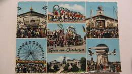 AK Gruß Vom Oktoberfest München Mit 7 Bilder Vom 29.9.64 Von München Nach Basel/Schweiz - Muenchen
