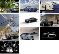 10 Postcards Of  Rolls-Royce Car Cars   ,  Postkarte Carte Postale - Hotels & Restaurants
