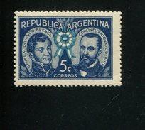 426517729 ARGENTINIE DB 1941 POSTFRIS MINTNEVER HINGED POSTFRIS NEUF YVERT 416 - Argentine