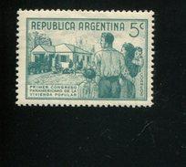 426518003 ARGENTINIE DB 1939 POSTFRIS MINTNEVER HINGED POSTFRIS NEUF YVERT 408 - Argentine