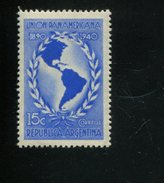 426518150 ARGENTINIE DB 1939 POSTFRIS MINTNEVER HINGED POSTFRIS NEUF YVERT 412 - Argentine