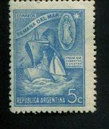 426519430 ARGENTINIE DB 1944 POSTFRIS MINTNEVER HINGED POSTFRISH EINWANDFREI NEUF YVERT 437 - Argentine