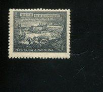 426519833 ARGENTINIE DB 1944 POSTFRIS MINTNEVER HINGED POSTFRISH EINWANDFREI NEUF YVERT 430 - Argentine