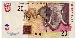 SOUTH AFRICA 20 RAND ND(2009) Pick 129b Unc - South Africa