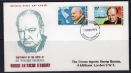 BAT 1974, 100th Winston Churchill, FDC