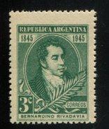 426520414 ARGENTINIE DB 1945 POSTFRIS MINTNEVER HINGED POSTFRISH EINWANDFREI NEUF YVERT 459 - Argentine