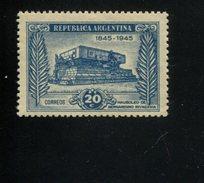 426520472 ARGENTINIE DB 1945 POSTFRIS MINTNEVER HINGED POSTFRISH EINWANDFREI NEUF YVERT 461 - Argentine