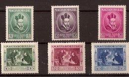 HUNGARY 1935, University - Neufs