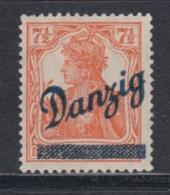 (02837) Danzig 35 Ungebraucht Mit Falz Geprüft - Danzig
