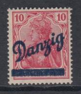 (02840) Danzig 36 B Postfrisch Geprüft - Danzig
