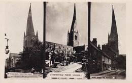 Old Photograph, Parish Church, Chesterfield (pk33264) - England