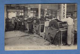 88 Vosges Contrexeville Embouteillage Des Eaux Lavage Des Bouteilles L ( Format 9 X 14 ) - Vittel Contrexeville