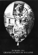 Cpsm  29 Mars 1981 Grand Lacher De Ballons (92 Clamart ) - Bourses & Salons De Collections