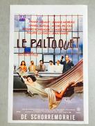 "Le Paltoquet""Fanny Ardant,Jean Yanne,Philippe Léonard,Michel Picoli ,Richard Borhringer (Michel Deville) - Manifesti & Poster"