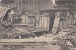 75 - PARIS CRUE DE LA SEINE 1910 / EFFONDREMENT COUR DE ROME - Inondations De 1910