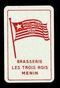 Speelkaart ( 0135 ) 1 Losse Kaart - Publicité Reclame  Bier Bière Brasserie Brouwerij - Menin  Meenen  Menen - Barajas De Naipe