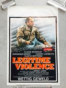 """Claude Brasseur,Thierry Lhermitte,Plastic Bertrand """"légitime Violence"""" (revolver,Tour Eiffel - Affiches & Posters"""