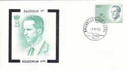 BAUDOUIN 1er - FDC   Timbre N° 2236 - Sur Enveloppe - 1981-90