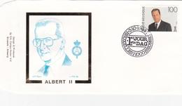 ALBERT II - Premier Jour -  Timbre N° 2576 - Sur Enveloppe - 1991-00