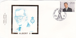 ALBERT II - FDC -  Timbre N° 2599 - Sur Enveloppe - 1991-00
